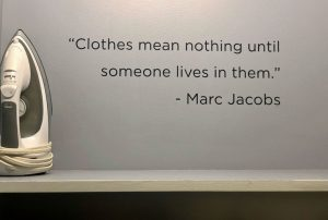 Marc Jacobs quote clothes mean nothing until someone lives in them
