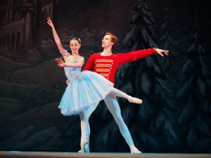 Dancers from the Nutcracker Ballet