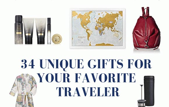 34 Unique Gifts For The Traveler