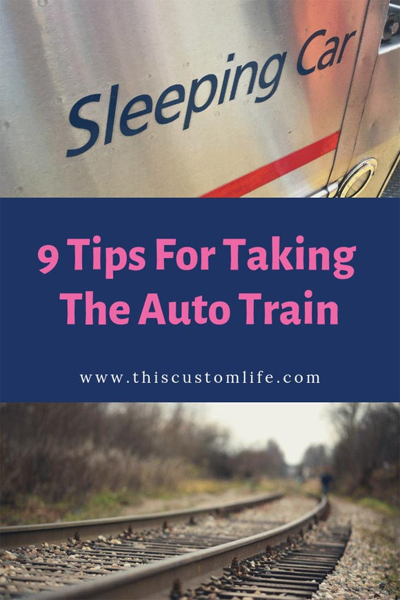 9 tips for taking the auto train