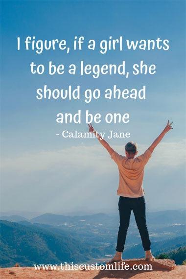 calamity Jane quote