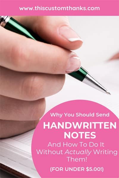 Send Handwritten Notes