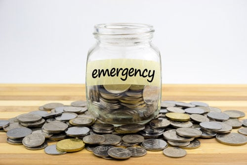 Financial emergency plan coins