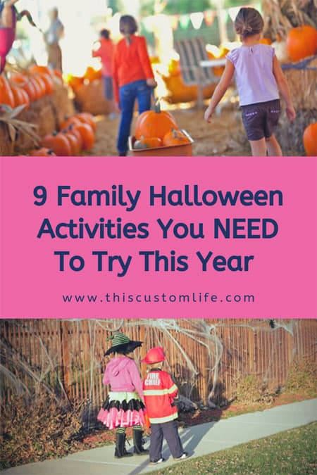 Family activities for halloween