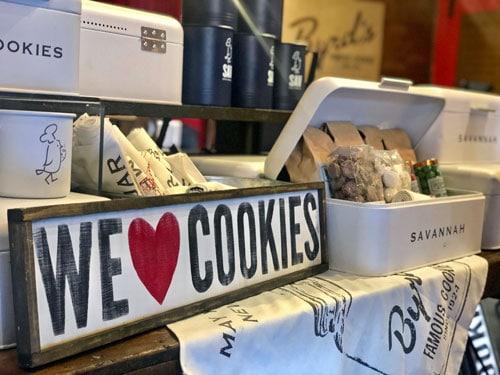 Byrds cookies long weekend in savannah