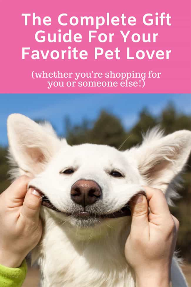 gift guide for pet lovers