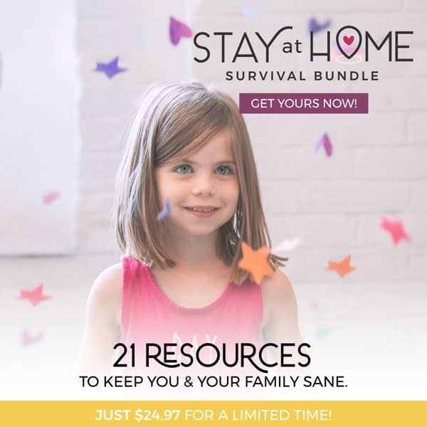 stay at home survival bundle