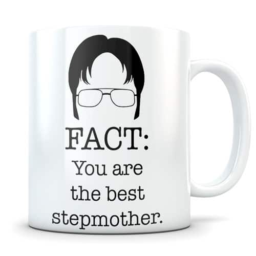 stepmom gift Dwight shrute mug
