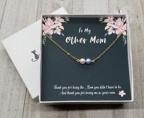 stepmom gift necklace