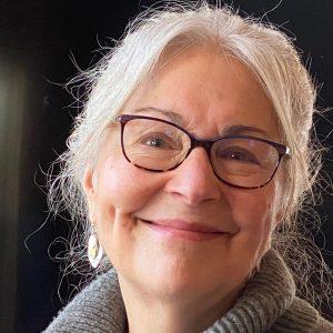 Stepfamily expert Dr. Patricia Papernow smiles